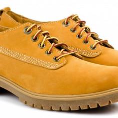 Pantofi dama TIMBERLAND Earth Keepers originali noi piele nubuck camel 38 - Pantof dama Timberland, Piele naturala, Cu talpa joasa