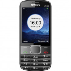 Telefon mobil Single SIM MaxCom Classic MM320, Dark Gray