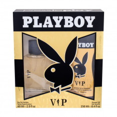 Apa de toaleta Playboy VIP For Him Barbatesc 60ML Edt 60 ml + Shower Gel 250 ml - Parfum barbati