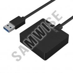 Adaptor HDD Orico 27UTS-BK, USB 3.0 la SATA, Negru - Rack HDD