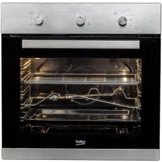 Cuptor incorporabil Beko BIG22102X, gaz, timer, rotisor, grill, iluminare cuptor, 66l, inox