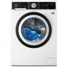 Masina de spalat rufe Electrolux cu uscator EWW1697BWD, 9+6 kg, 1600 rpm, Inverter, afisaj LCD, Optisense, Time Manager, clasa A, alb