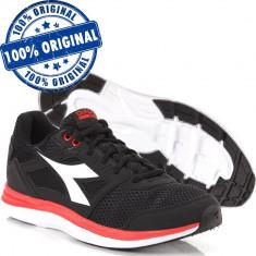 Pantofi sport Diadora Heron pentru barbati - adidasi originali - alergare /panza foto