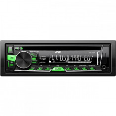 Radio CD auto KD-R469EY, 4 x 50 W, 1DIN, USB, AUX, Subwoofer control - CD Player MP3 auto JVC
