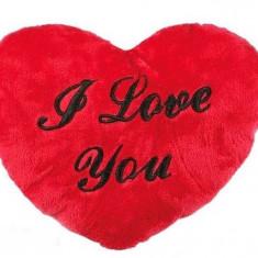 Inimă Pluș XL I Love You60cm, Cadouri Valentine`s Day