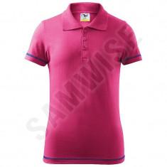 Tricou Polo de copii Junior, 100% bumbac (Culoare: Purpuriu, Marime: 122cm/6 ani, Pentru: Copii)