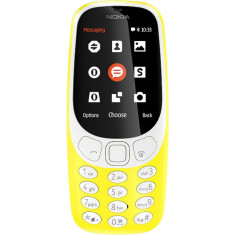 Telefon mobil Nokia 3310 (2017), Dual SIM, galben