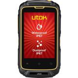 Telefon mobil UTOK Dorel 3S, Dual SIM, Black/Orange