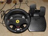 Volan cu pedale Thrustmaster Ferrari PC cu sistem de prindere
