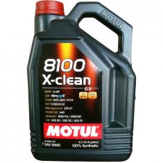 Ulei motor MOTUL 8100 X-CLEAN 5W-40 5L