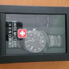 Ceas NOU - Swiss Military Hanowa, 100% Original, adus din Dubai. - Ceas barbatesc Swiss Military, Quartz