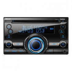 Receptor CD, USB, MP3, WMA Bluetooth 2-DIN - CD Player MP3 auto Clarion