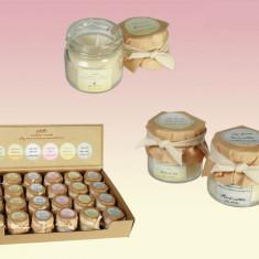 6 x asortate cu ceara lumanari parfumate - Lumanare parfumata