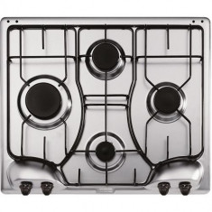 Plita incorporabila Franke PPI 4 4GAV, gaz, 4 arzatoare, aprindere electrica, dispozitiv de siguranta, gratare emailate, inox