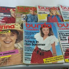 LOT 9 REVISTE BURDA*CU TIPARE/ ANUL 1982/ LIMBA GERMANĂ