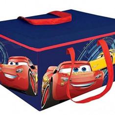 Cutie pentru depozitare jucarii transformabila Cars 3, Multicolor