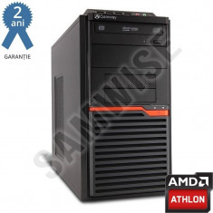 Calculator GATEWAY DT55, AMD Athlon II X2 260 3.2GHz, 2GB DDR3, HD4250 VGA DVI, 160GB, Delta 300W, DVD-RW - Sisteme desktop fara monitor