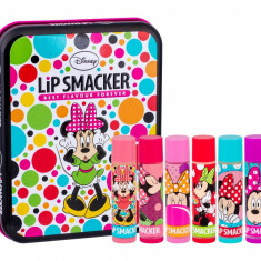Lip Balm Lip Smacker Disney K 4ML Lip Balm 6 x 4 g + Tin Box - Balsam de buze