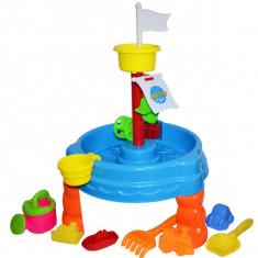 Set Masuta cu accesorii pentru apa si nisip