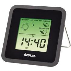 Hama Termo/Higrometru TH50, negru - Statie meteo
