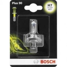 Bec auto Bosch H7 12V 55W, PLUS 90