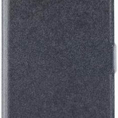 Husa Book Cover Star Pocket pentru Huawei Honor 7X (Negru)