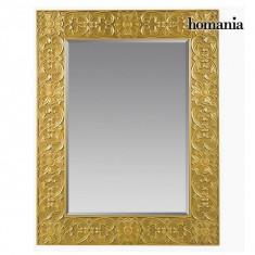 Oglindă Pătrat Aur - Queen Deco Colectare by Homania - Oglinda hol