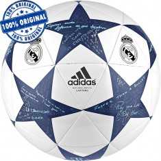 Minge fotbal Adidas Finale Real Madrid - minge originala, Champions League, 5, Teren sintetic