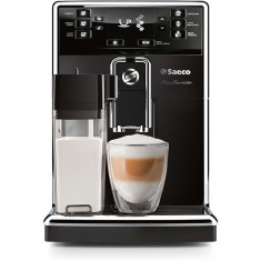 Espressor Philips super-automat PicoBaristo HD8925/09, carafa pentru lapte integrata, 1.8l, rasnita 100% ceramica, boiler cu incalzire rapida, negru