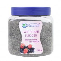 Sare de baie cu fructe de padure, 700 g