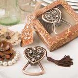 Cupru antic deschizător sticle de inima
