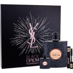 Apa de parfum Yves Saint Laurent Black Opium Dama 90ML Edp 90 ml + Edp 7, 5 ml + Mascara Volume Effet Faux Cils No1 2 ml - Parfum femeie