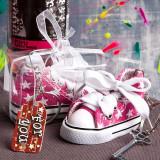 Breloc Sneaker Roz Stelute