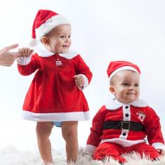 Constum de Moș Crăciun pentru Copii Băiat - Costum Mos Craciun
