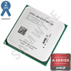 Procesor AMD Richland, Vision A8 6500 3.5GHz (Turbo 4, 1 GHz), Quad Core, Video Radeon HD 8570D - Procesor PC AMD, AMD V Series, Numar nuclee: 4