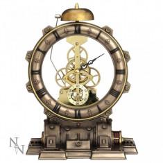 Ceas de birou steampunk Masina timpului - Ceas birou
