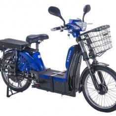 Bicicleta electrica, tip scuter nu necesita inmatriculare ZT-33 LASER ALBASTRU