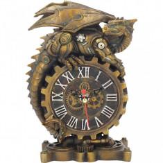 Ceas de birou dragon steampunk Clockwork Companion - Ceas birou