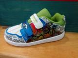 Adidas Disney cu Testoasele Ninja, marimea 27, Baieti, Alb