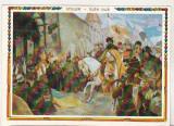 Bnk cp Intrarea lui Mihai Viteazul in Alba Iulia -  Vedere - necirculata