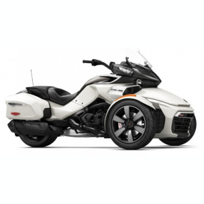 Can-Am Spyder F3-T SE6 Pearl White '18 foto