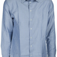 Camasa Armani Emporio - Camasa barbati, Marime: 40, Culoare: Albastru, Maneca lunga