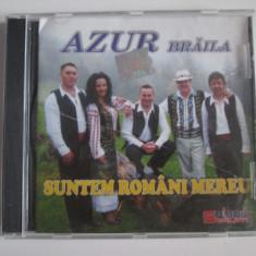 Raritate! Cd editie limitata Nelu Vlad(Azur Braila) albumul:Suntem romani mereu