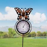 Termometru Decorativ pentru GrădinăFluture