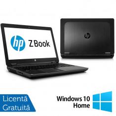 Laptop Refurbished Hp Zbook 15, Intel Core i7-4600U 2.10Ghz, 16GB DDR3, 256GB SSD, 15 inch, LED display + Windows 10 Home - Server de stocare