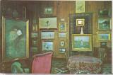Bnk cp Campina - Interior din Muzeul N Grigorescu - necirculata, Printata