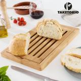 Planșetă din Bambus pentru Tăiat Pâine TakeTokio