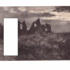 CP Dezna - Cetatea, 1911, circulata - Carte Postala Crisana 1904-1918, Fotografie