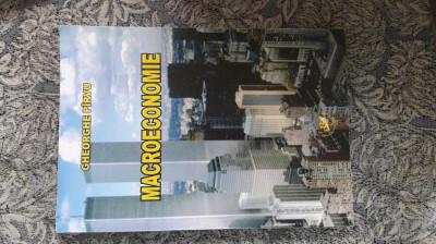 MACROECONOMIE -GHEORGHE PARVU foto