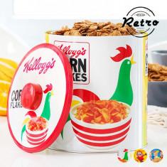 Cutie din Metal Circulară Retro Kellogg'sRice Krispies - Caserola